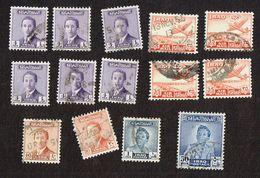 14x Stamps - IRAQ POSTAGE - Air Mail - Iraq