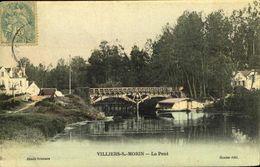 77 VILLIERS-SUR-MORIN / LE PONT / A 92 - France