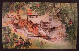 Tuvalu 1998 Year Of The Tiger - Tuvalu
