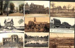 Province Du Hainaut - Lot Sélectionné De 37 Cartes PK's (animée, Précurseur,  Peu Vue...) - Cartes Postales