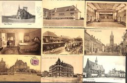 Lot Sélectionné De 63 Cartes PK's (animée, Précurseur,  Peu Vue Blankenberghe Le Zoute La Panne Middelkerke Ostende - Cartes Postales