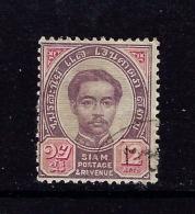 Thailand 16 Used 1887 Issue SCV 2015 $3.50 - Tailandia