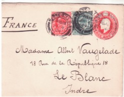 Cover To France- 1904  G653 - Storia Postale