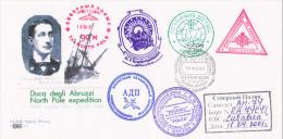 North Pole Expedition Polex Moscou 2001 Duca Degli Abruzzi Stella Polare - Non Classés