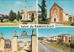 RAMUSCELLO /  Saluti Con Vedutine _ Viaggiata - Pordenone