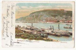 BUDAPEST - GELLERTHEGY - BLOCKSBERG - EDIT G. RUGER & CO. WIEN - 1900s ( 2175 ) - Hongrie
