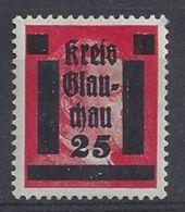 Germany 1945  Glauchau  (*) MM  Mi.7 - Soviet Zone