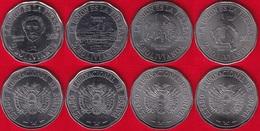 "Bolivia Set Of 4 Coins: 2 Bolivianos 2017 ""Territorial Claims, Chile"" UNC - Bolivia"