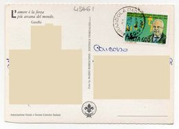 Frase Poesi Poeta - Gandhi  - Storia Postale - Svizzera