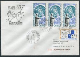 1992 T.A.A.F. French Antarctic Antarctica Polar, Martin De Vivies, St Paul AMS Cover. Penguin - French Southern And Antarctic Territories (TAAF)