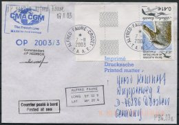 2003 T.A.A.F. French Antarctic Polar, Alfred Faure Crozet Cover. - French Southern And Antarctic Territories (TAAF)