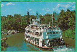 Etats-Unis - Orlando - Walt Disney World - The Rivers Of America - Orlando