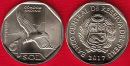"""Peru 1 Sol 2017 """"Andean Condor"""" UNC - Pérou"""