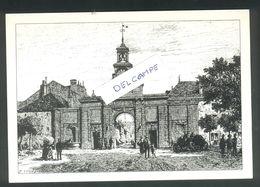 """Pontarlier - Porte De Le Michaud  D""""Arçon - Carte Dessin - Pontarlier"""
