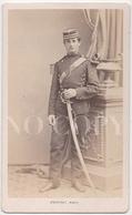 MILITAIRE. Identifié Au Verso. 1871. CDV Provost à Toulouse. 2 Scans. - Photographs