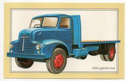 Camion  LEYLAND COMET  1948 -- Carte Pub  Lucas CAV --cachet Auxerre -89 - Cartes Postales
