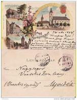 Romania,Rumanien,Roumanie                   - Sibiu ( Hermannstadt )- Litho, Litografie 1898 - Roumanie