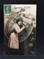 CP F029 - Carte Postale Fantaisie -Jeune Fille - Holidays & Celebrations