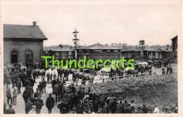 CPA  TORHOUT ALOUDE PAARDENMARKT STATION TREINEN - Torhout