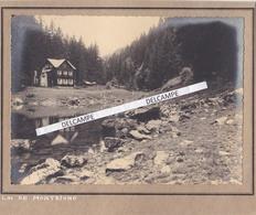 MONTRIOND  Années 1930 - Photo Originale Prise Au Lac ( Haute Savoie ) - Lugares