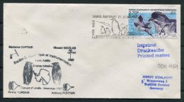 2001 T.A.A.F. French Antarctic Polar Dumont D'Urville Terre Adelie Cover. Penguin Expedition - French Southern And Antarctic Territories (TAAF)