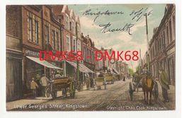BRITISH WEST INDIES ST VINCENT KINGSTOWN - LOWER GEORGE'S STREET - 1906 ( 2200 ) - Cartoline