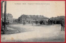 CPA 08 LE CHESNE - 3 Août - Voyage De Mr Clémenceau Dans Les Ardennes ° F.F. Paris (Fleury) - Le Chesne