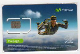 COSTA RICA CARTE GSM MOVISTAR PARACHUTISME - Costa Rica