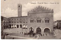 Treviso -Piazza Dei Signori E Palazzo Dei 300 - - Treviso