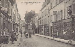 L'Isle-Adam : Grande Rue - L'Isle Adam