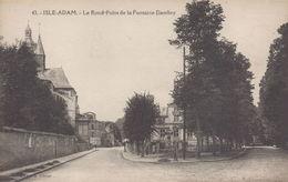 L'Isle-Adam : Le Rond Point De La Fontaine Dambry - L'Isle Adam