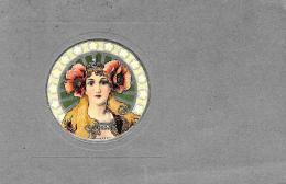 [DC11543] CPA - ILLUSTRATEURS ART DECO - STYLE MUCHA - IN RILEVO - Non Viaggiata - Old Postcard - Illustratori & Fotografie