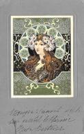 [DC11544] CPA - ILLUSTRATEURS ART DECO - STYLE MUCHA - IN RILEVO - Non Viaggiata - Old Postcard - Illustratori & Fotografie