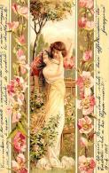 [DC11551] CPA - BELLA CARTOLINA ILLUSTRATA - Viaggiata 1901 - Old Postcard - Illustratori & Fotografie