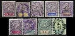 CAPE OF GOOD HOPE, Revenues, B&H 127/141 Disc., Used, F/VF, Cat. £ 20 - South Africa (...-1961)