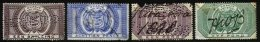 ORANGE FREE STATE, Revenues, Used, Ave/F, Cat. £ 12 - Orange Free State (1868-1909)