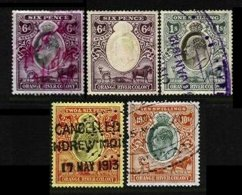 ORANGE RIVER COLONY, Revenues, Used, F/VF - South Africa (...-1961)
