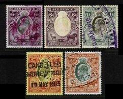 ORANGE RIVER COLONY, Revenues, Used, F/VF - Südafrika (...-1961)