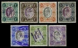 TRANSVAAL, Revenues, B&H 83/89, Used, F/VF, Cat. £ 34 - Afrique Du Sud (...-1961)