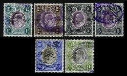 TRANSVAAL, Revenues, Used, F/VF - Transvaal (1870-1909)