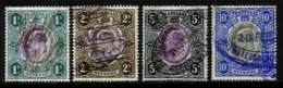 TRANSVAAL, Revenues, Used, F/VF - South Africa (...-1961)