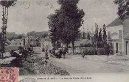 LOUVRES : La Rue De Paris - Louvres