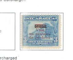 Nicaragua 1921 Nat.Palace E Leon Cath.surch.Scott.399 Nuovi/Usati See Scans - Nicaragua