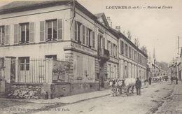 LOUVRES : Mairie Et Ecoles - Louvres