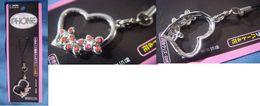 "Decorative Strap : "" Heart "" - Charms"