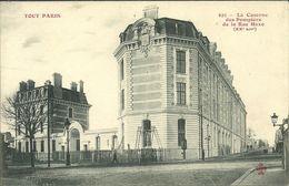 PARIS 20  -- TOUT PARIS - La Caserne Des Pompiers De La Rue Haxo             -- Fleury 423 - Arrondissement: 20