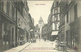 PARIS 20  -- TOUT PARIS -rue Saint Blaiset                  -- Fleury 55 - Arrondissement: 20