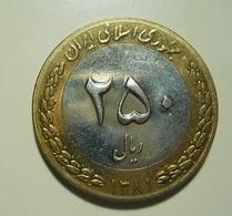 Iran 250 Rials 2002 - Iran