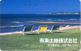 290 : 27406 Beach And 3 Chairs USED - Japan