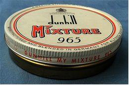 Leere Blechdose  Dunhill Mixture 965 - Dosen